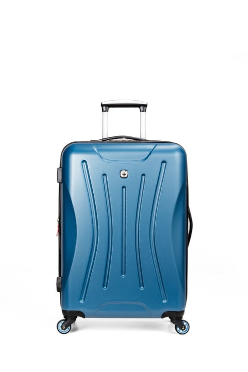 "Swissgear 7270 19"" Hardside Expandable Spinner Luggage - Hardshell construction"