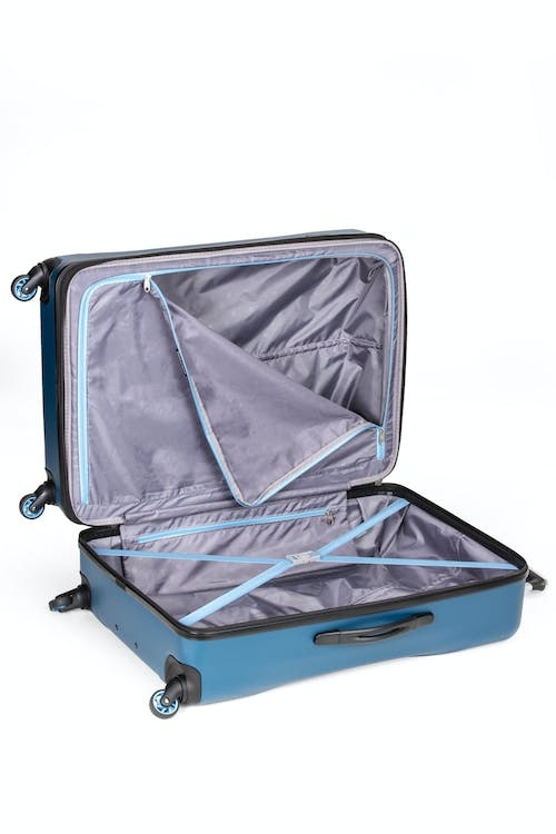 """SWISSGEAR 7270 19"""" Hardside Expandable Spinner Luggage - Elastic tie-down clothing straps"""