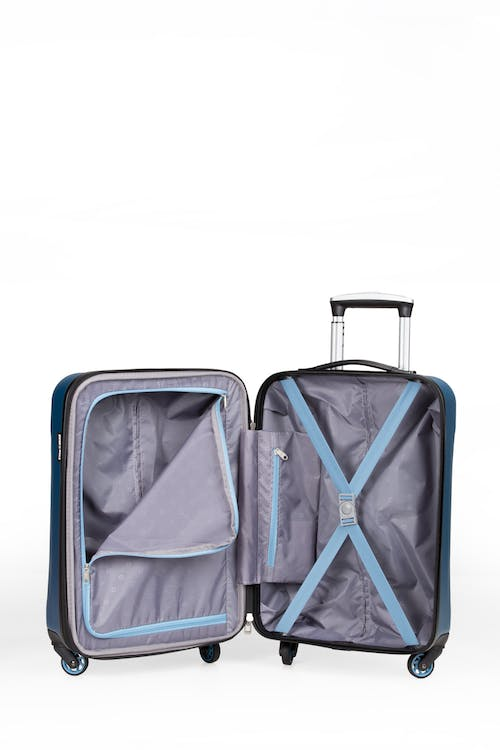 """SWISSGEAR 7270 19"""" Hardside Expandable Spinner Luggage - Large internal zippered packing compartment"""