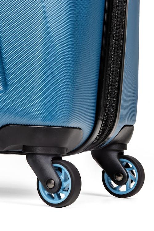 "SWISSGEAR 7270 19"" Hardside Expandable Spinner Luggage - Four 360-degree, multi-directional spinner wheels"