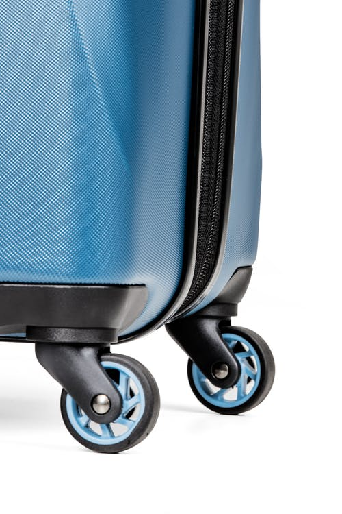 "SWISSGEAR 7270 26"" Hardside Expandable Spinner Luggage - Four 360-degree, multi-directional spinner wheels"