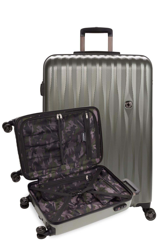 Swissgear 7366 Expandable 3pc Hardside Luggage Set
