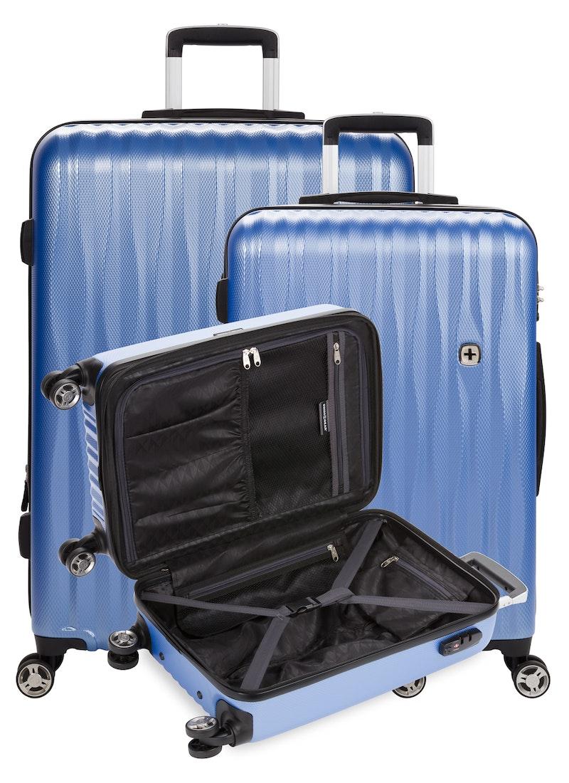 Swissgear 7272 Energie Expandable 3pc Hardside Spinner Luggage Set