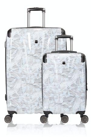 Swissgear 7330 Expandable Hardside Spinner Luggage 2pc Set