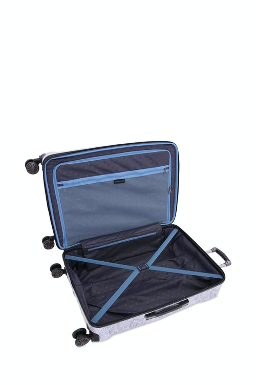 "Swissgear 7330 19"" Expandable Hardside Spinner Carry-On - Open View"