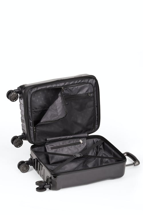 """Swissgear 19"""" Expandable Hardside Spinner Carry-On - Open View"""