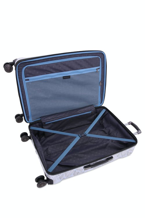 "Swissgear 7330 26"" Expandable Hardside Spinner Luggage - Open View"