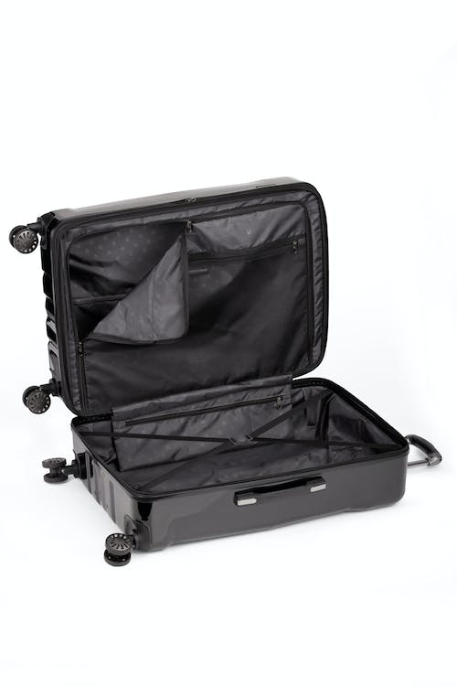 """Swissgear 26"""" Expandable Hardside Spinner Luggage - Open View"""