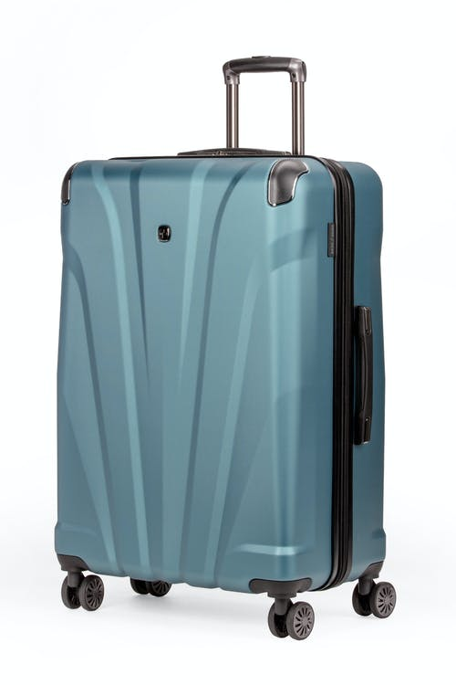 "Swissgear 7330 26"" Expandable Hardside Spinner Luggage -Teal"