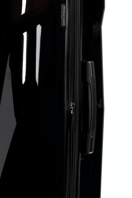 Swissgear 7330 Expandable Hardside Spinner Luggage Durable co-molded top lift handle