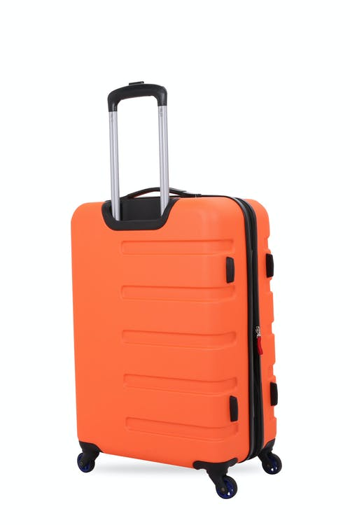 "SWISSGEAR 7366 18"" Expandable Hardside Luggage Premium aluminum telescopic locking handle"