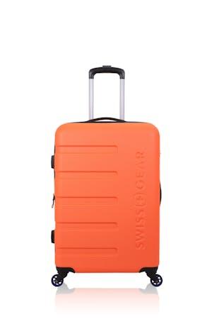 "Swissgear 7366 18"" Expandable Carry On Hardside Spinner Luggage - Orange"