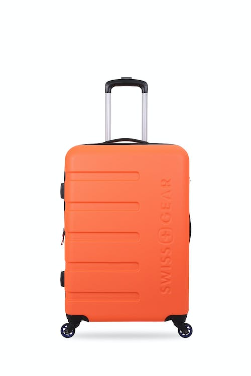 "SWISSGEAR 7366 18"" Expandable Hardside Luggage Rugged ABS hardside split case"