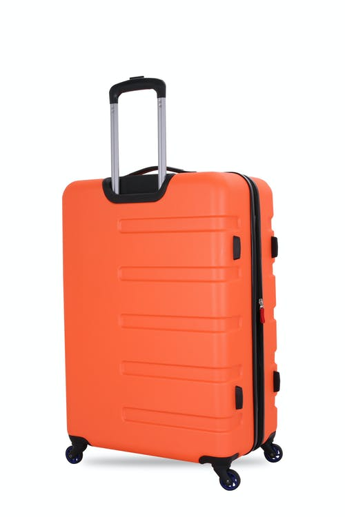 """SWISSGEAR 7366 23"""" Expandable Hardside Luggage Premium aluminum telescopic locking handle"""