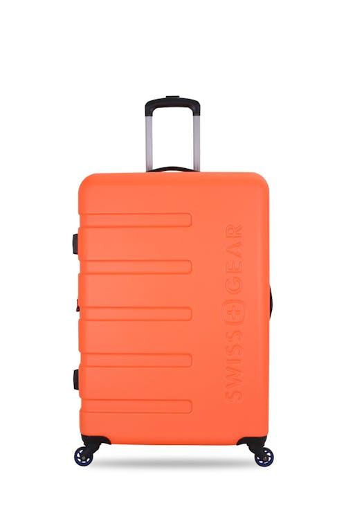 "SWISSGEAR 7366 23"" Expandable Hardside Luggage Rugged ABS hardside split case"