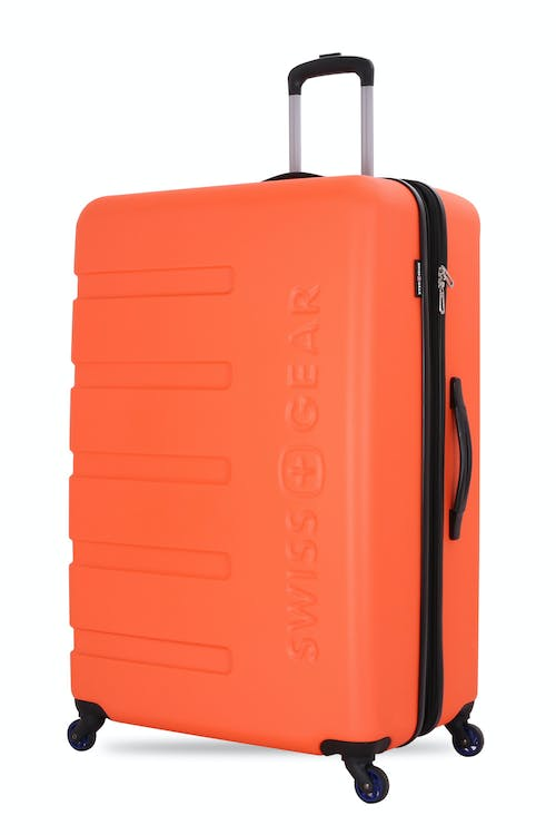 "Swissgear 7366 27"" Expandable Hardside Spinner Luggage - Orange"