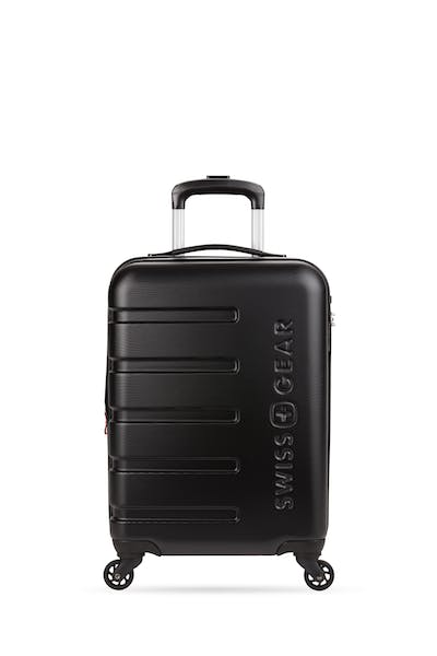 """Swissgear 7366 18"""" Expandable Carry On Hardside Spinner Luggage"""