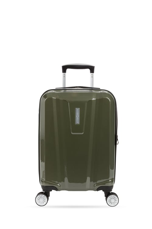"Swissgear 7510 19"" Carry On Hardside Spinner Luggage hardside construct"