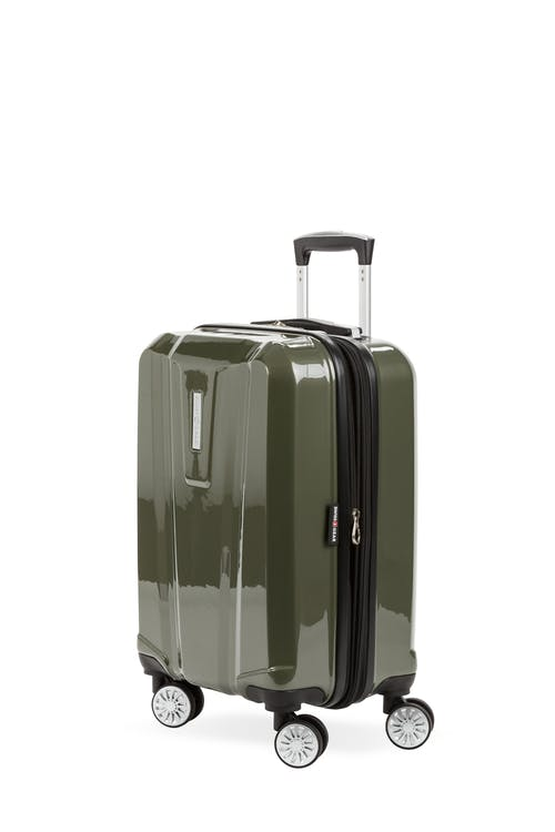 "Swissgear 7510 19"" Carry On Hardside Spinner Luggage - Olive"