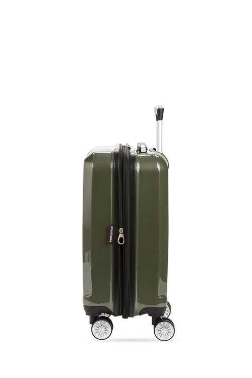 "Swissgear 7510 19"" Carry On Hardside Spinner Luggage Expands"