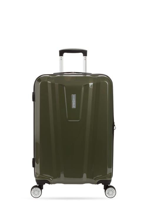 "Swissgear 7510 24"" Hardside Spinner Luggage Non-slip side feet"