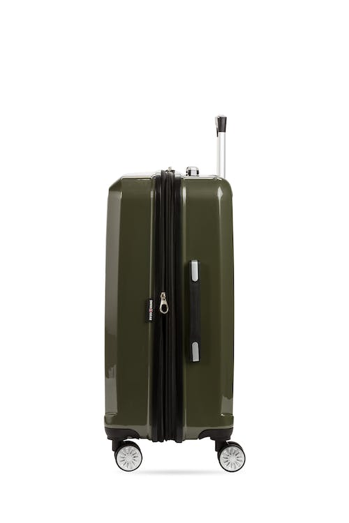 """Swissgear 7510 24"""" Hardside Spinner Luggage Expands"""