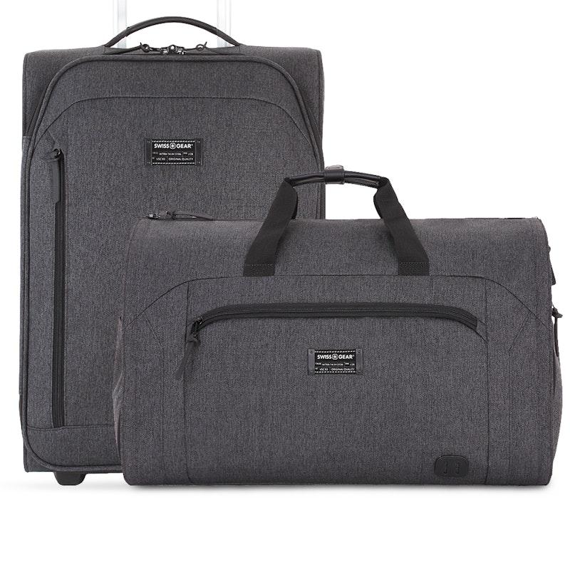 Swissgear 2PC Getaway Luggage Set - Dark Gray