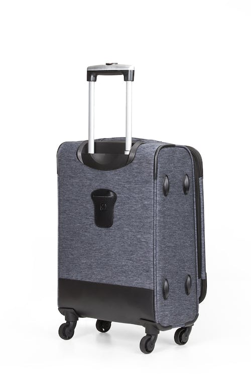 "SWISSGEAR 7732 19"" Softside Expandable Spinner Luggage Integrated ID tag on back panel"