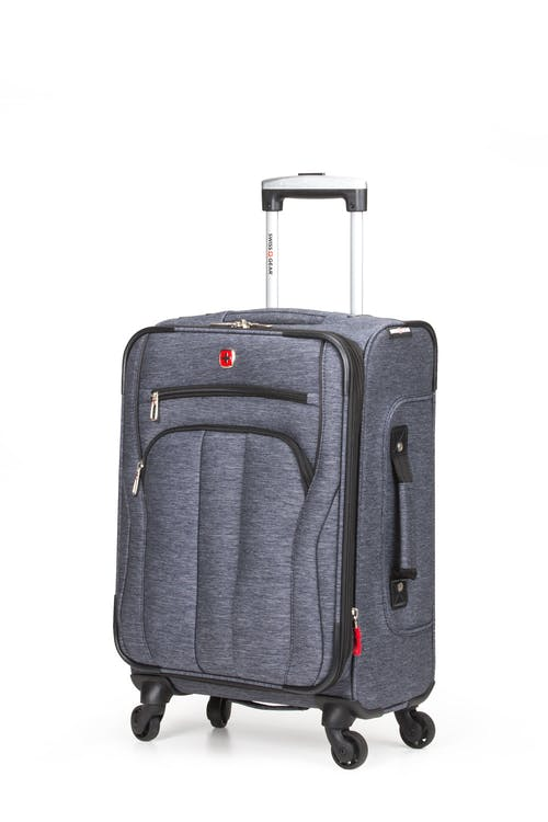 "SWISSGEAR 7732 19"" Softside Expandable Spinner Luggage - Blue Heather"