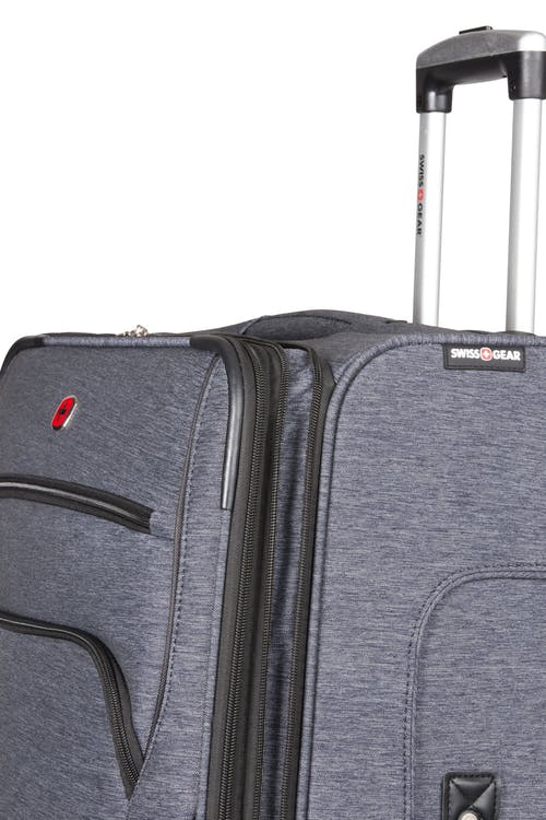 "SWISSGEAR 7732 29"" Softside Expandable Spinner Luggage Durable reinforced lay flat top, bottom and side grab handles"