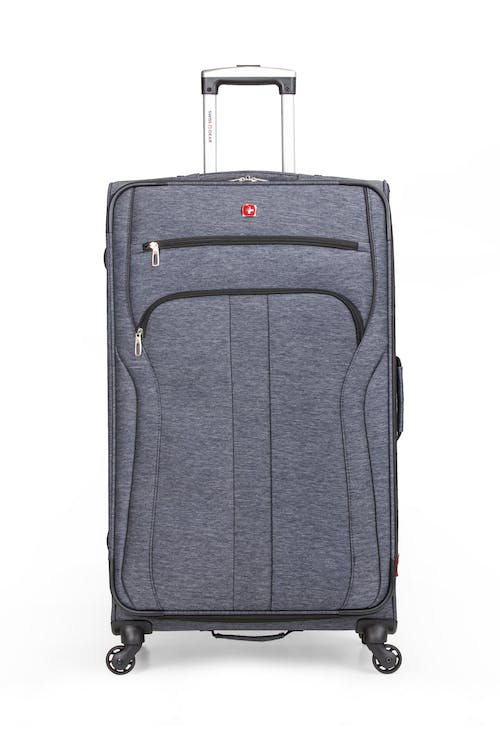 "SWISSGEAR 7732 29"" Softside Expandable Spinner Luggage Two front pockets"