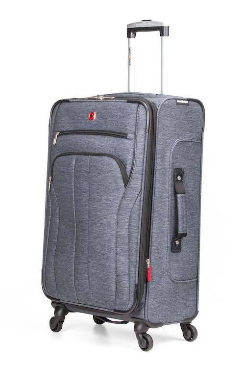 "SWISSGEAR 7732 29"" Softside Expandable Spinner Luggage - Blue Heather"