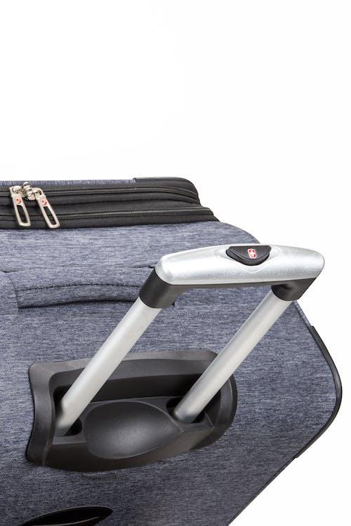 """SWISSGEAR 7732 29"""" Softside Expandable Spinner Luggage Premium, aluminum locking lift handle"""