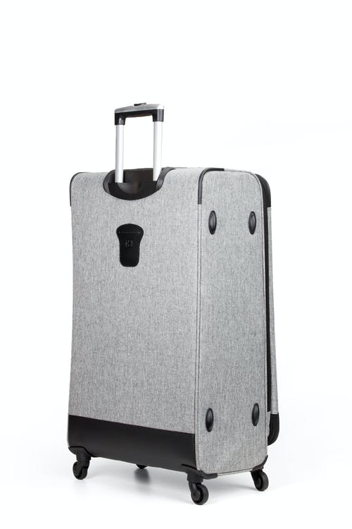 "SWISSGEAR 7732 25"" Softside Expandable Spinner Luggage - Integrated ID tag on back panel"