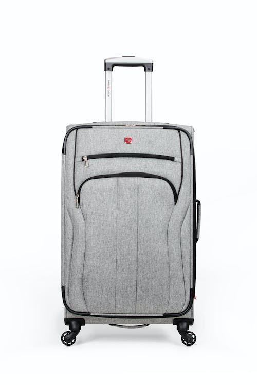 "Swissgear 7732 25"" Softside Expandable Spinner Luggage - Two front pockets"