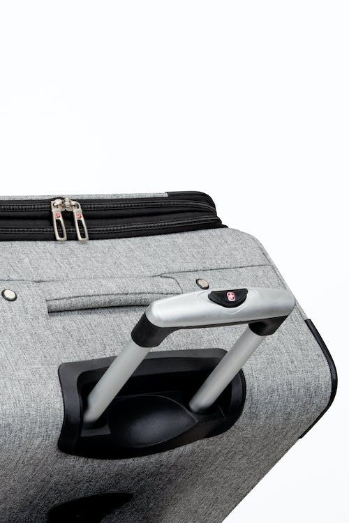 """SWISSGEAR 7732 25"""" Softside Expandable Spinner Luggage - Premium, aluminum locking lift handle"""