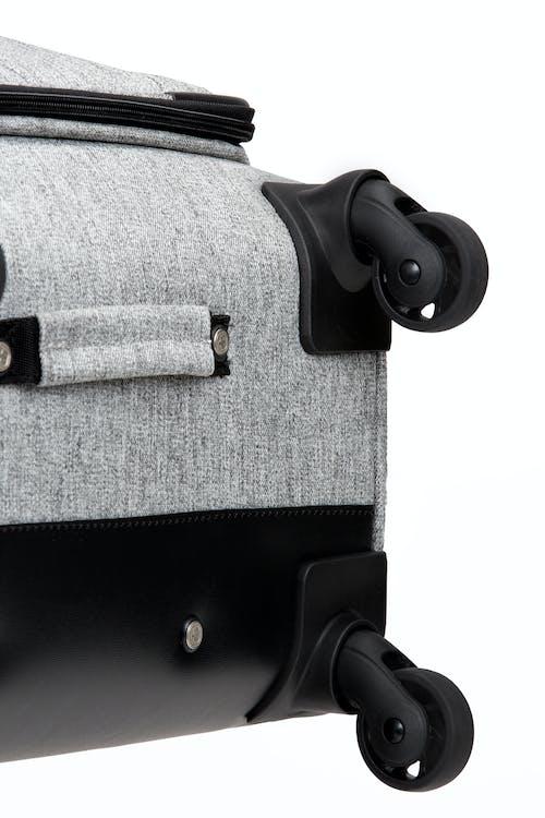 "SWISSGEAR 7732 25"" Softside Expandable Spinner Luggage - Non-slip side feet"