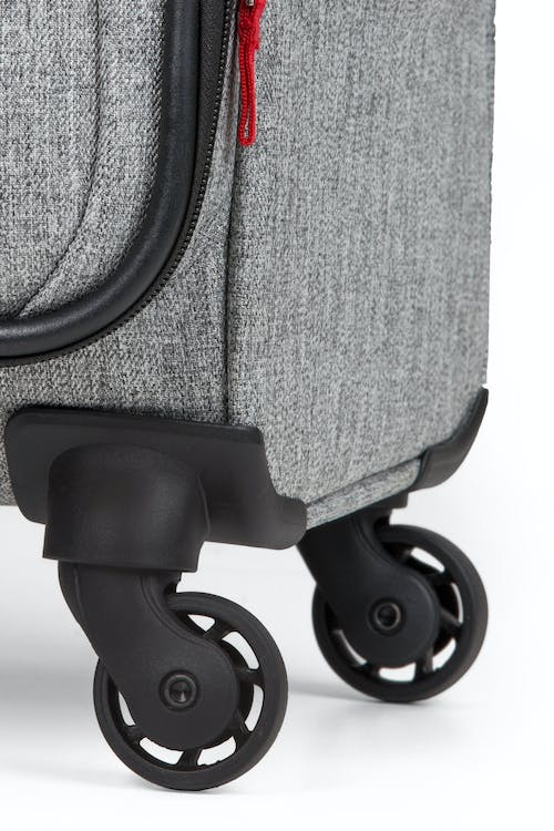"""SWISSGEAR 7732 25"""" Softside Expandable Spinner Luggage - Four 360-degree, multi-directional spinner wheels"""