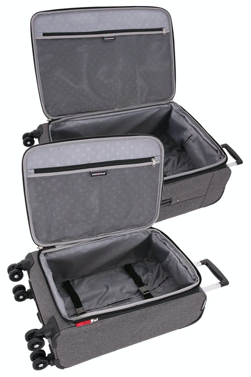 Swissgear 7738 Expandable Spinner Luggage Open View