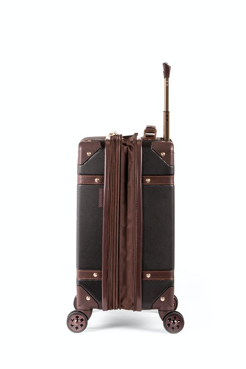 "Swissgear 7739 19"" Trunk Expandable Spinner Luggage Expands for additional packing space"
