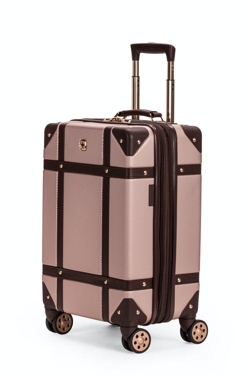 "Swissgear 7739 19"" Trunk Expandable Spinner Luggage - Bronze"