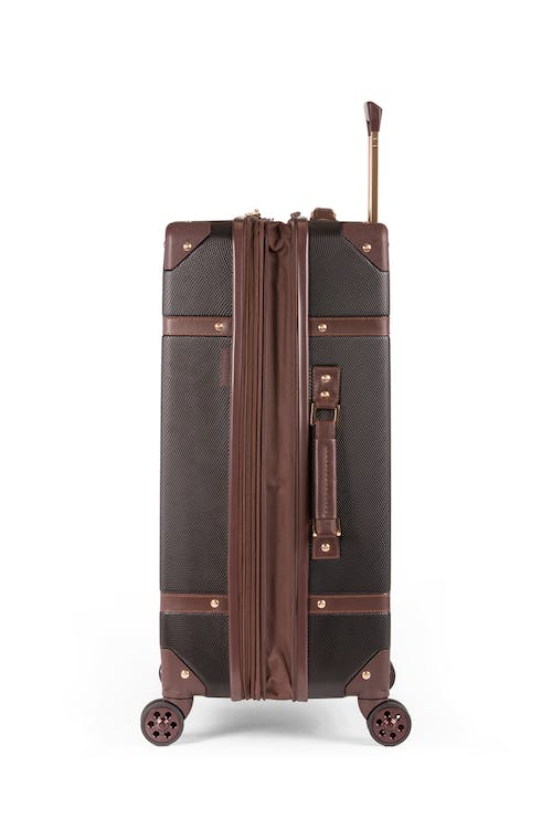 "Swissgear 7739 26"" Trunk Expandable Spinner Luggage Expands for additional packing space"