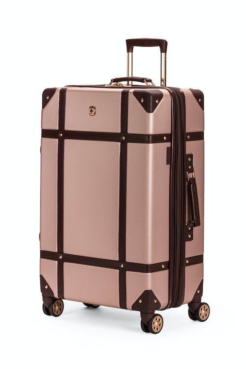 "Swissgear 7739 26"" Trunk Expandable Spinner Luggage - Bronze"