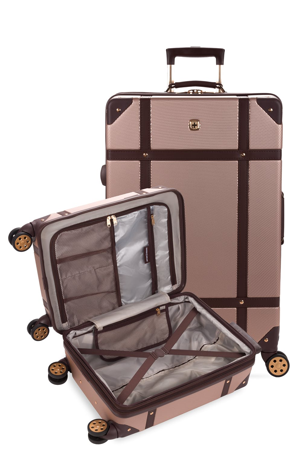 SWISSGEAR 7739 2-piece Expandable Trunk Luggage