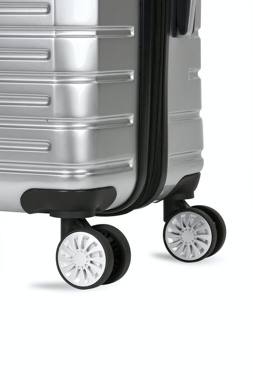 Swissgear 7782 Expandable Hardside Luggage multi-directional spinner wheels