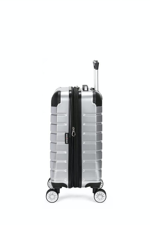 "Swissgear 7782 18"" Expandable Hardside Spinner Luggage Expands for additional interior space"