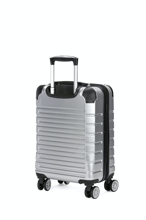 "Swissgear 7782 18"" Expandable Hardside Spinner Luggage soft rubber hand grips"
