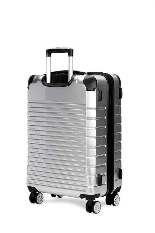 "Swissgear 7782 27"" Expandable Hardside Spinner Luggage split-case construction"