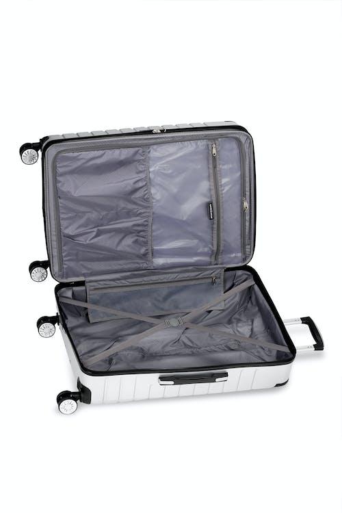 "Swissgear 7782 27"" Expandable Hardside Spinner Luggage One large packing pocket"