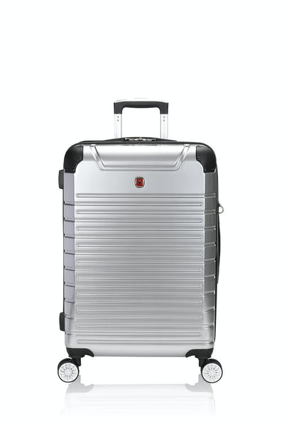 "Swissgear 7782 23"" Expandable Hardside Spinner Luggage - Silver"
